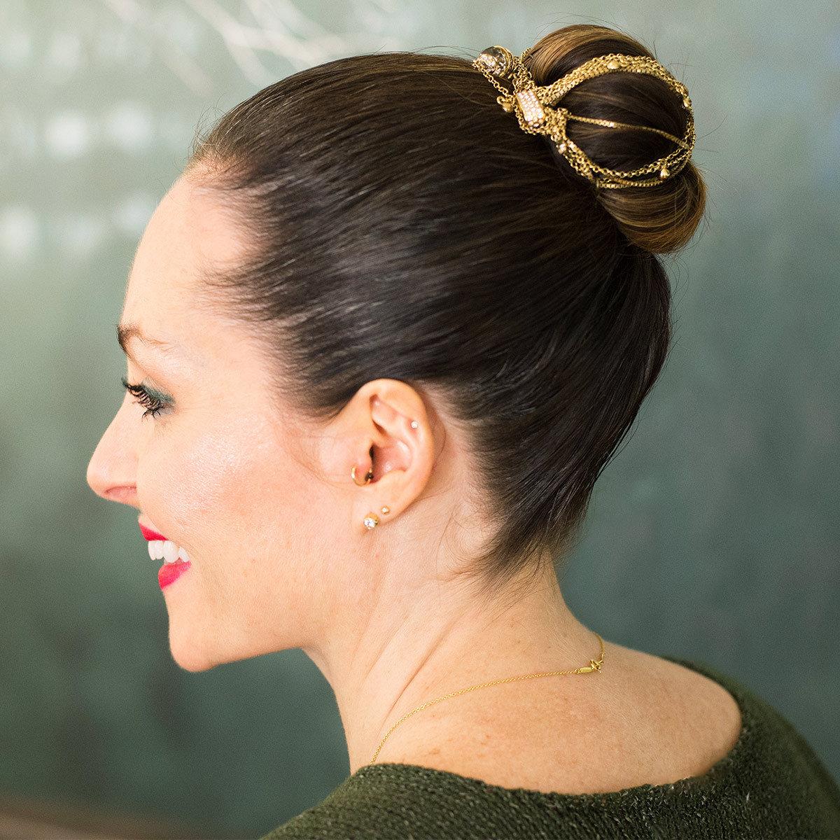 Holiday Hair, Hair Accessories, Ted Gibson, Caitlin Kirenan, Trish Halpin