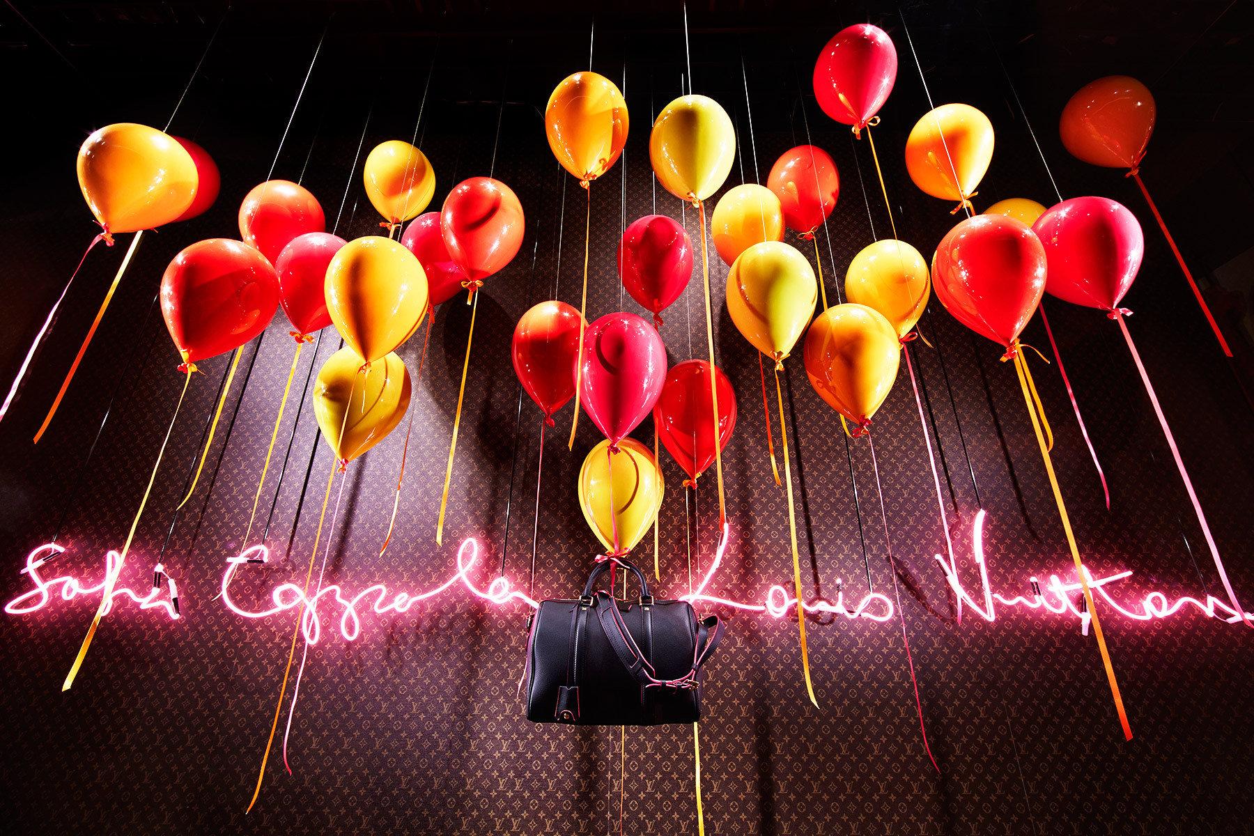 Sofia Coppola + Le Bon Marché, Louis Vuitton