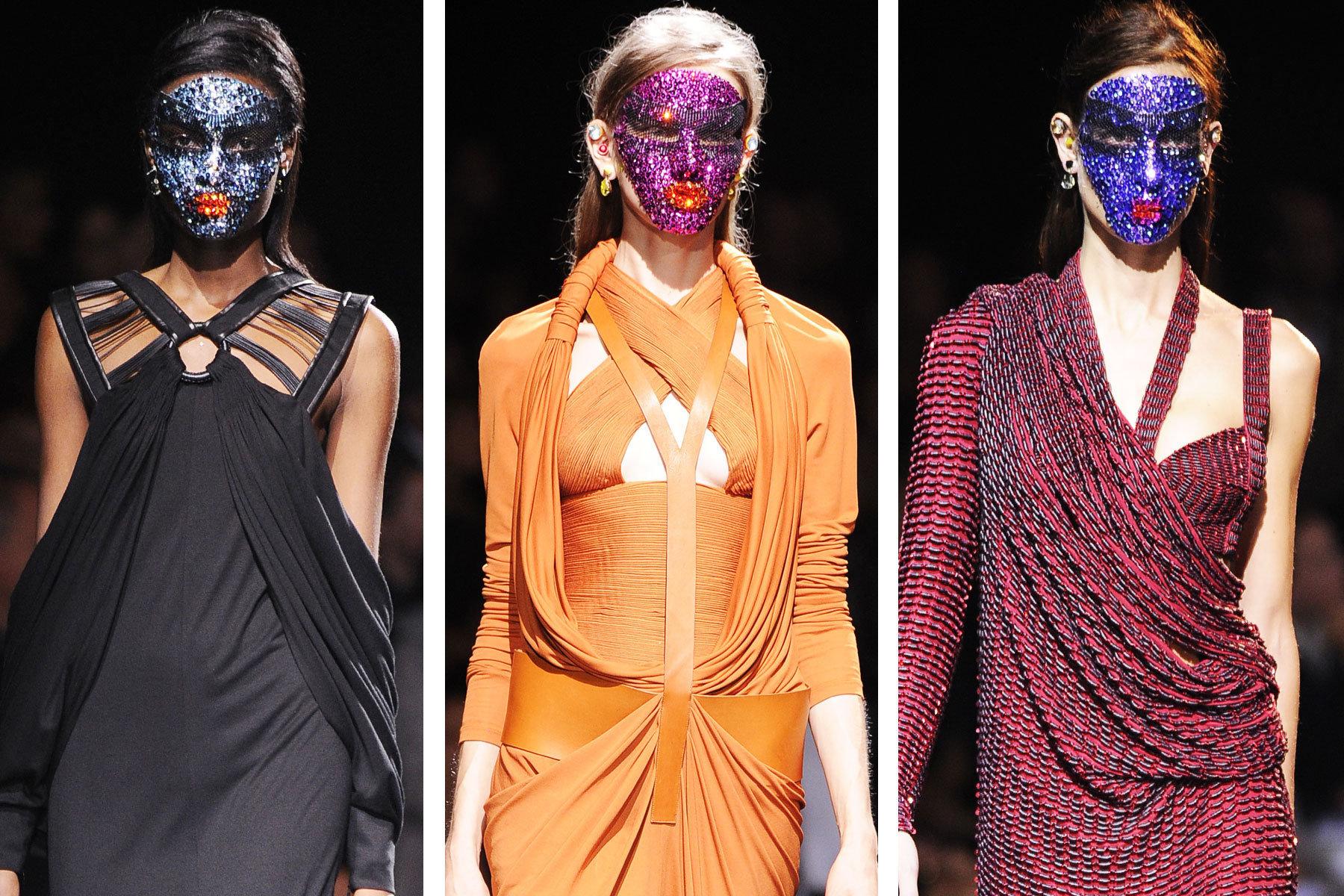 Givenchy, Paris, Fashion Week, Runway, Fase Masks