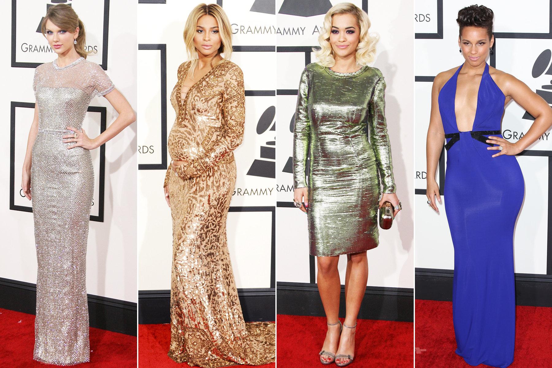 2014 GRAMMYs dresses