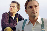 Leonardo DiCaprio in Gatsby