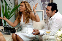 Adrienne Maloof White Party