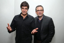 David Copperfield and Steve Carell Burt Wonderstone