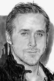 How to Draw Ryan Gosling