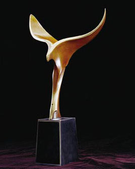 The Writers' Guild Awards Statue