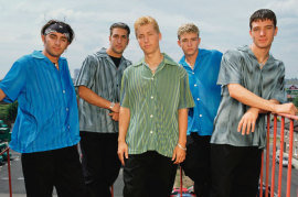 Nsync Group Shot 1998