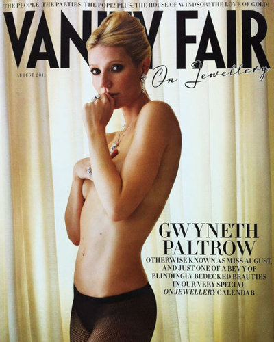 Gwyneth Paltrow, Vanity Fair