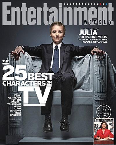 Julia Louis-Dreyfus, Veep, Entertainment Weekly