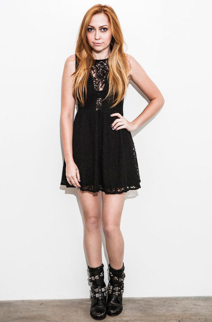 Brandi Cyrus for Rad and Refined 1