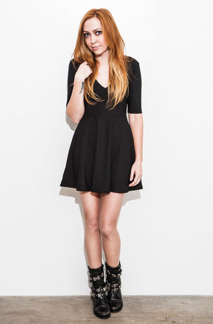 Brandi Cyrus for Rad and Refined 2