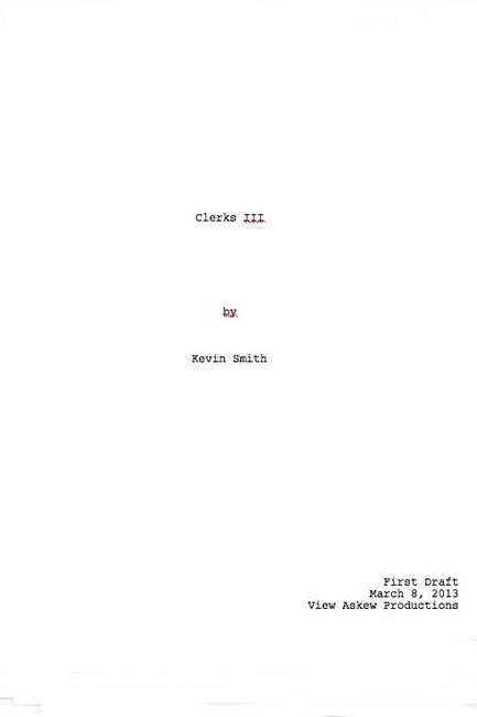 Clerks III Script