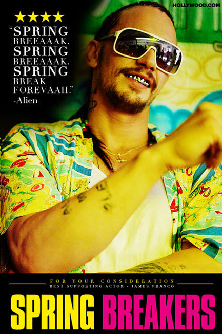 James Franco Spring Breakers Oscars 2014 Best Supporting Actor