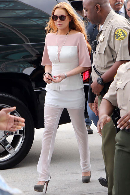 Lindsay Lohan Court Date