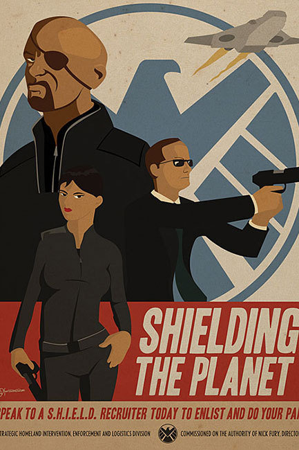 SHIELD poster