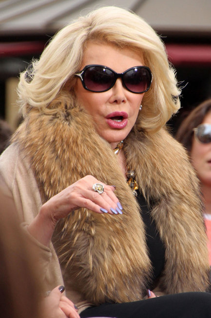 Joan Rivers twitter rant