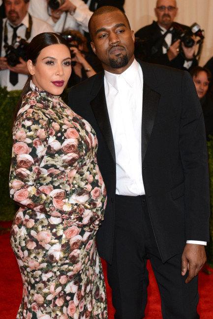 Kanye West, Kim Kardashian met gala