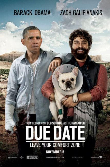 Due Date, Barack Obama