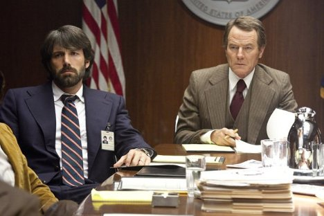 Argo, Ben Affleck, Bryan Cranston