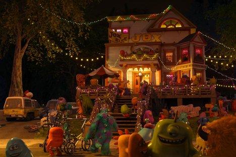 Monsters University, Pizza Planet Truck, Pixar