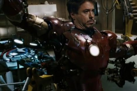 Iron Man, Robert Downey Jr.