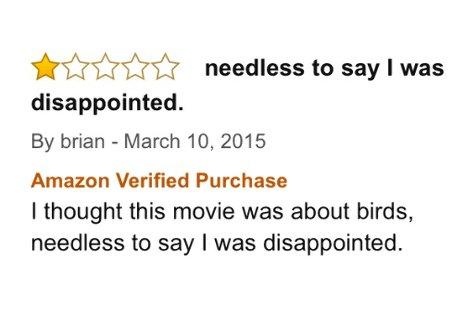 Amazon, Birdman