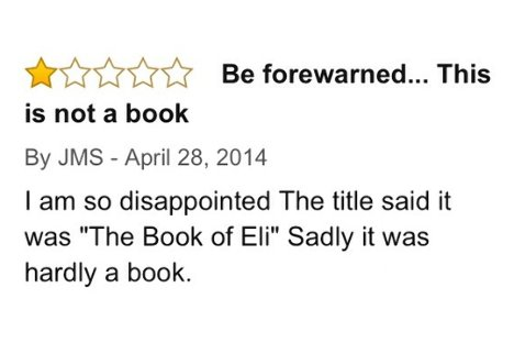 Amazon, Book of Eli