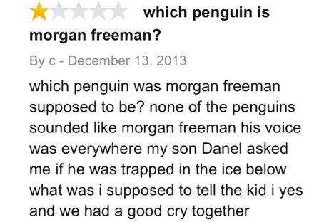 Amazon, March of the Penguins