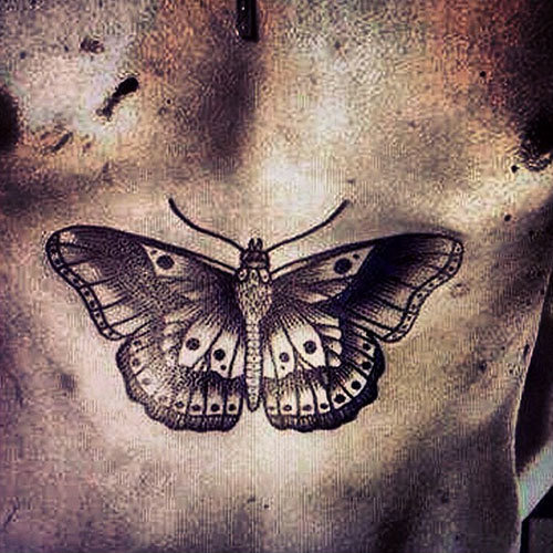 Harry Styles Butterfly Tattoo