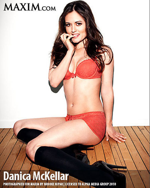 Danica McKellar Poses for Maxim