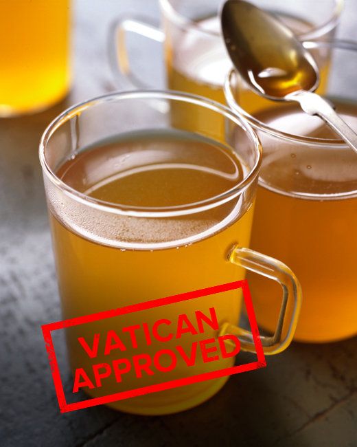 Vatican Approved Hot Toddies