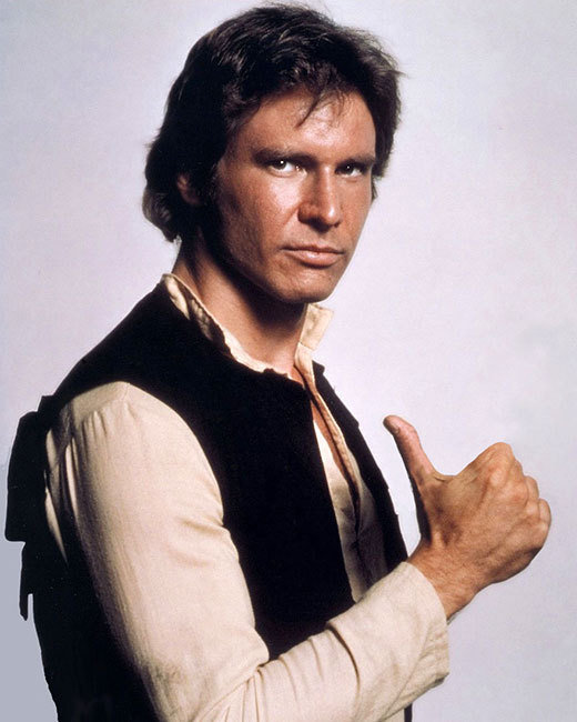 Han Solo without gun