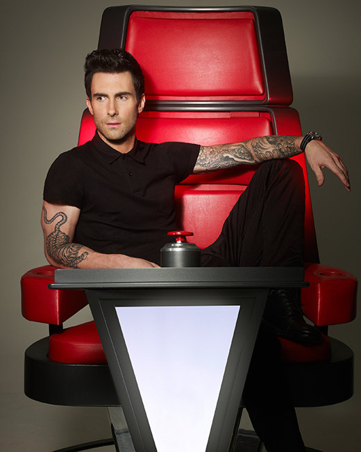 adam the voice  sc 1 st  Hollywood.com : judges chairs - Cheerinfomania.Com