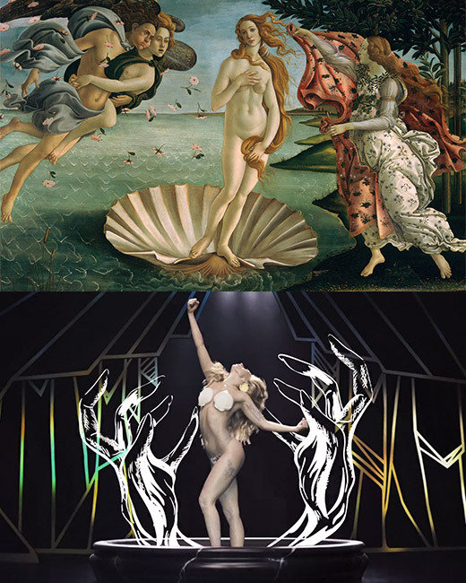 Lady Gaga, Applause, The Birth of Venus