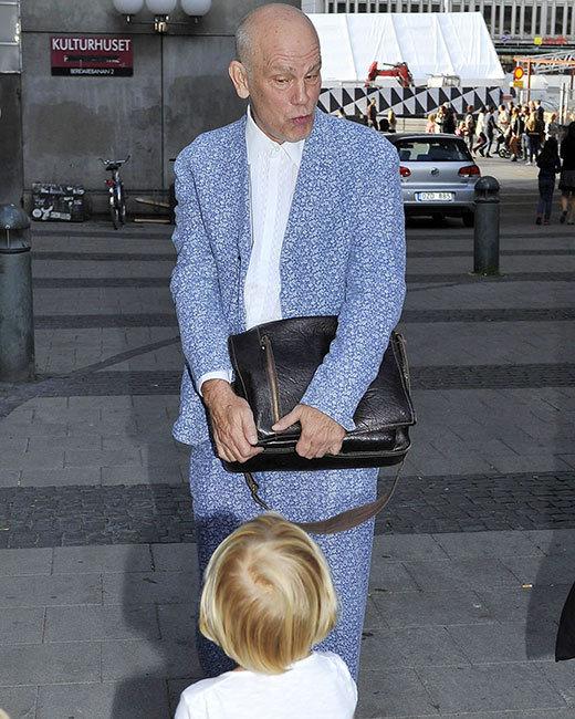 John Malkovich visits Stockholm