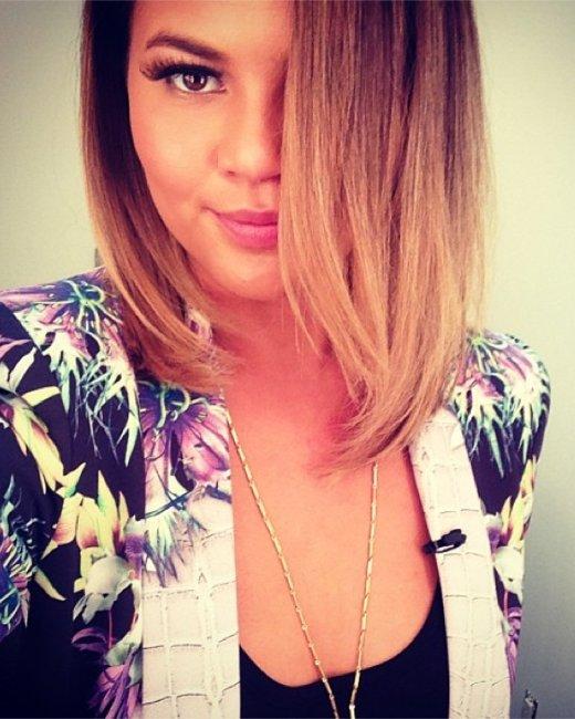 Chrissy Teigen, Instagram selfie