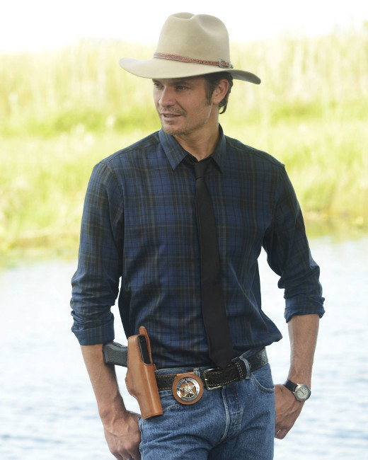Timothy Olyphant, Justified