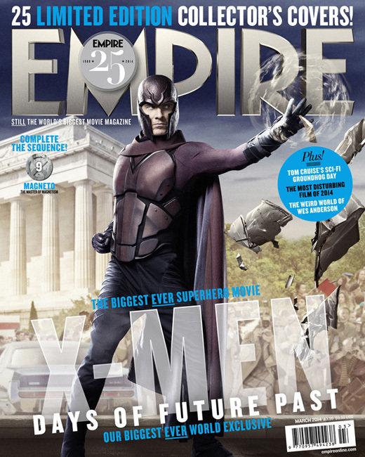 X-Men Days Of Future Past 'Empire Magazine' Cover