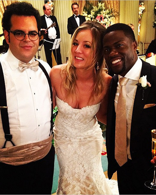 The Wedding Ringer, Kevin Hart and Kaley Cuoco