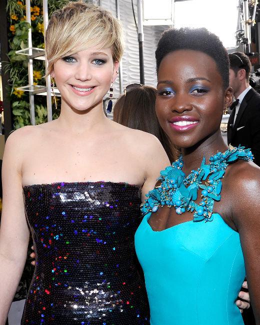Jennifer Lawrence, Lupita Nyong'o