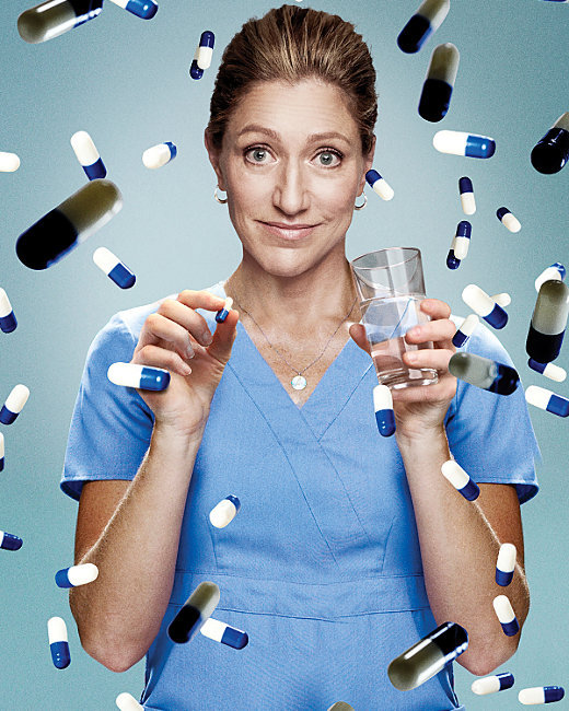 a few thoughts on nurse jackie using drugs again
