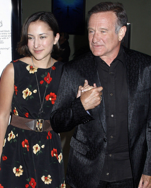 Zelda and Robin Williams