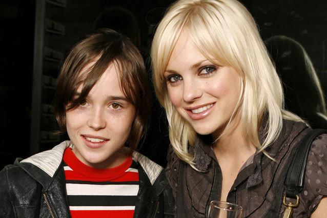Ellen Page and Anna Faris