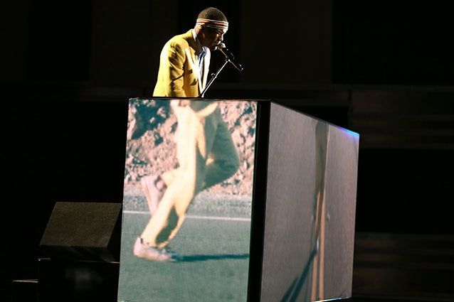 Frank Ocean Sings Forrest Gump