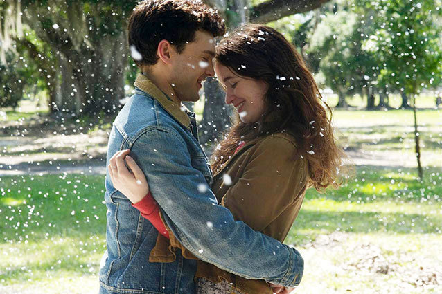 Beautiful Creatures stars Alden Ehrenreich and Alice Englert