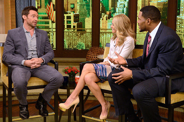 Hugh Jackman on 'Live! With Kelly & Michael'