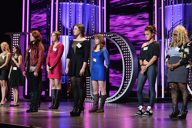 Girls Hollywood Week American Idol
