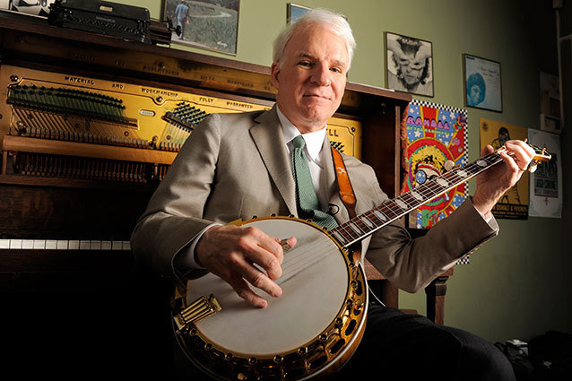Steve Martin becomes a father