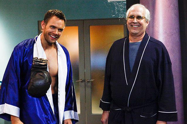 Pierce and Jeff Halloween Episode Season 4 COmmunity