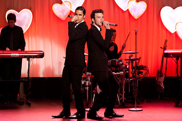 Glee Wedding Klaine