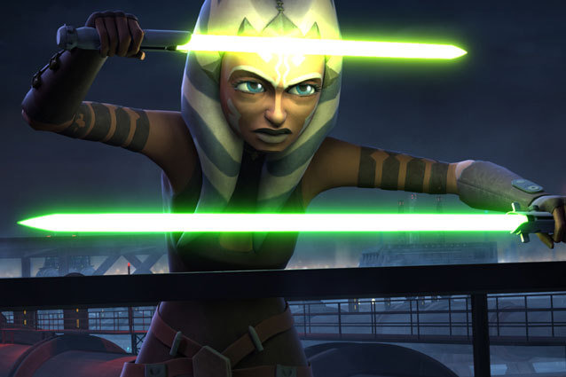 Ahsoka is framed for murder on 'Star Wars: The Clone Wars'